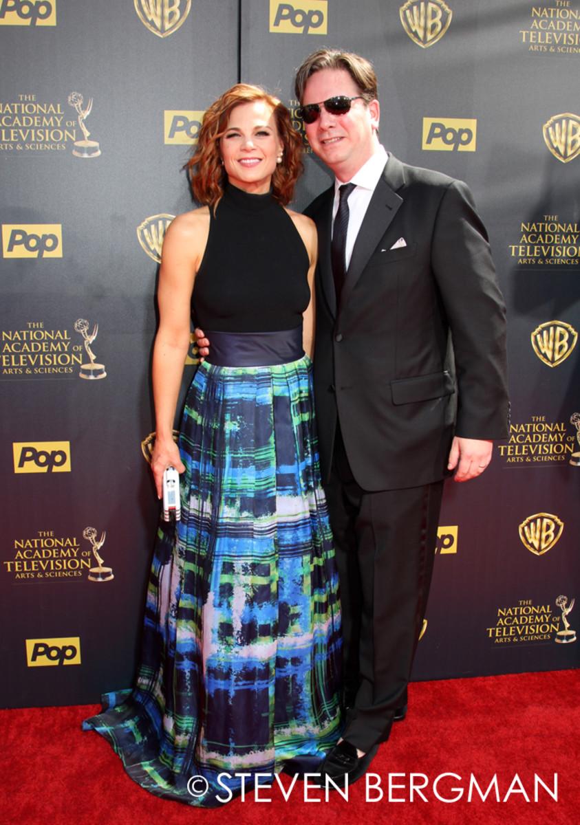 Gina Tognoni and husband Joseph Chiarello