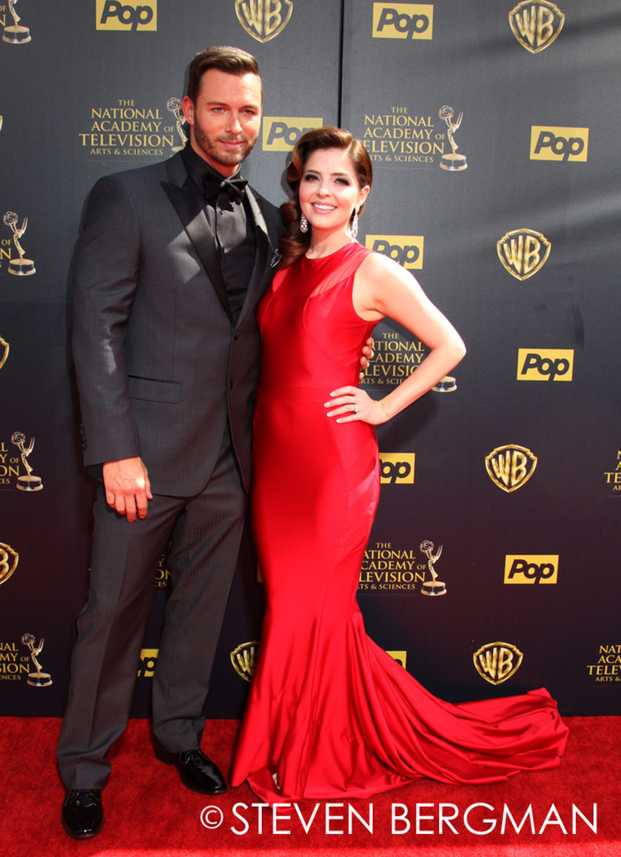 Eric Martsolf and Jen Lilley