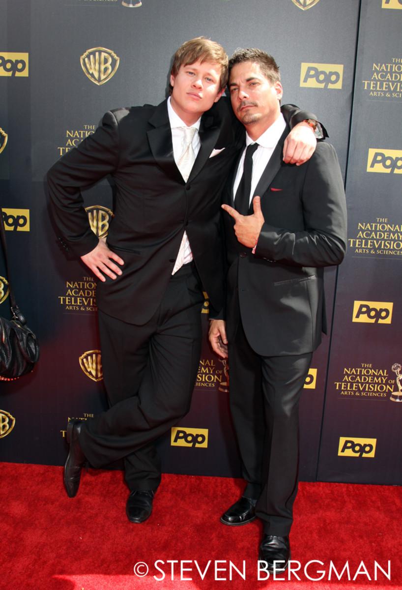 Guy Wilson and Bryan Datillo