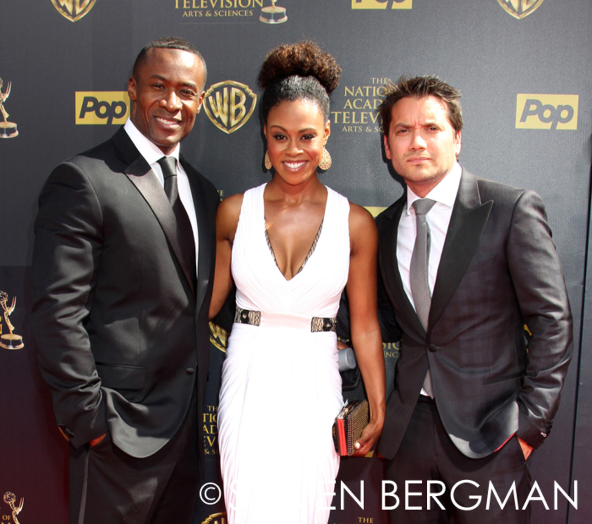 Sean Blakemore, Vinessa Antoine and Dominic Zamprogna