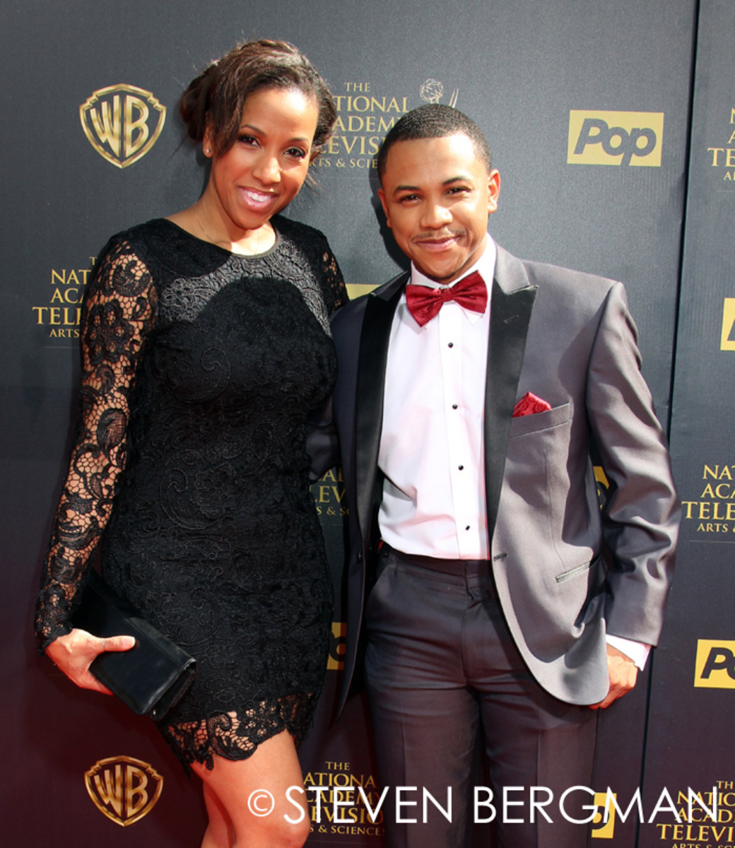 Tequan Richmond and mother Temple Poteat