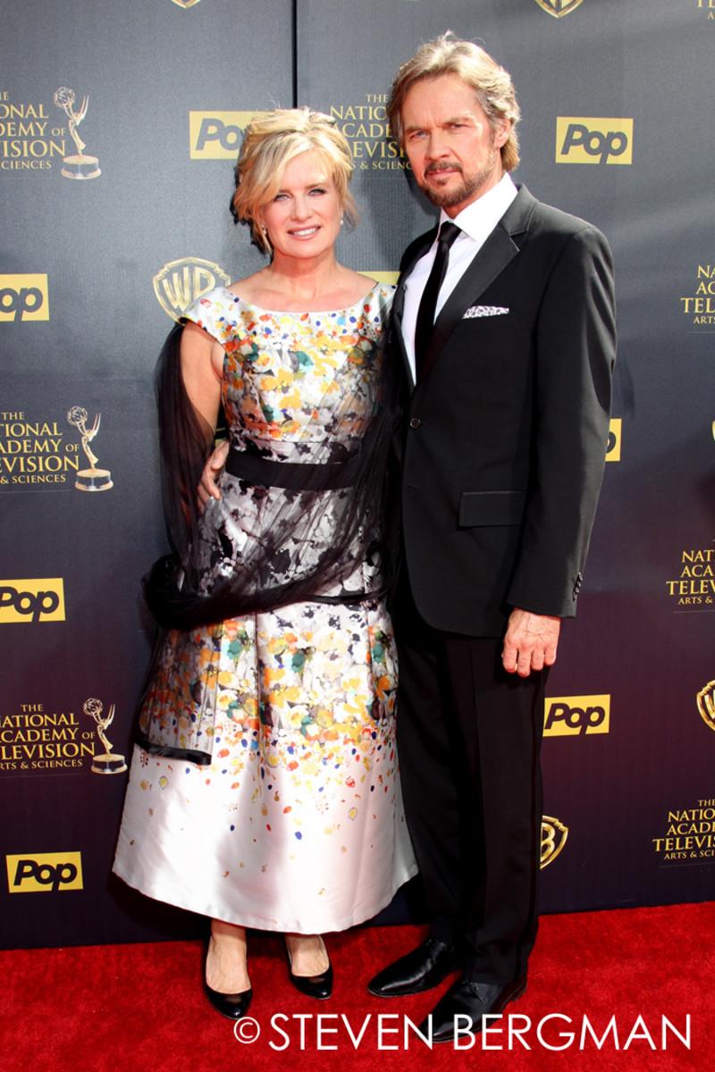 Mary Beth Evans and Stephen Nichols
