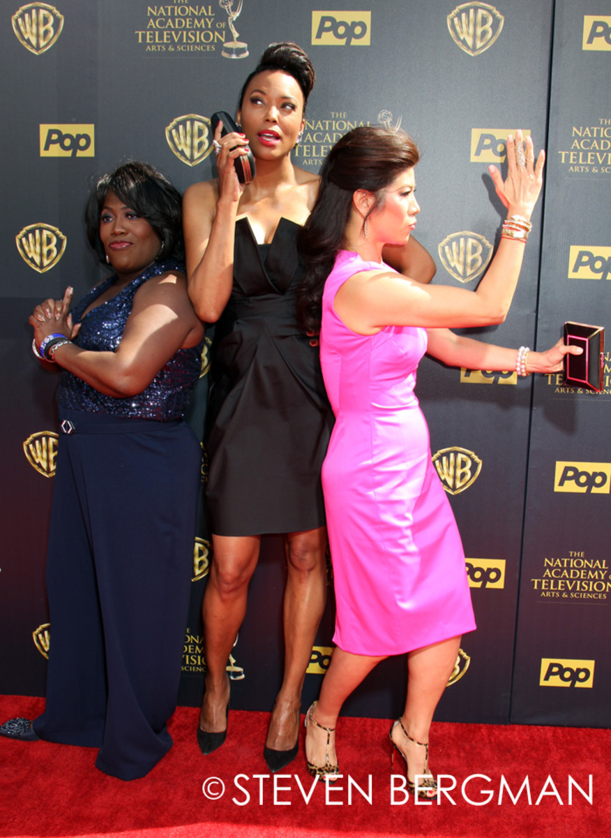 Sheryl Underwood, Aisha Tyler and Julie Chen