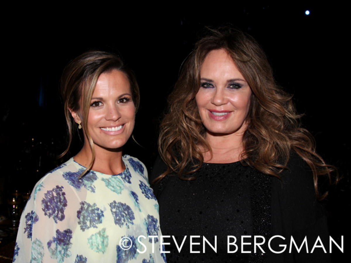Melissa Claire Egan and Catherine Bach