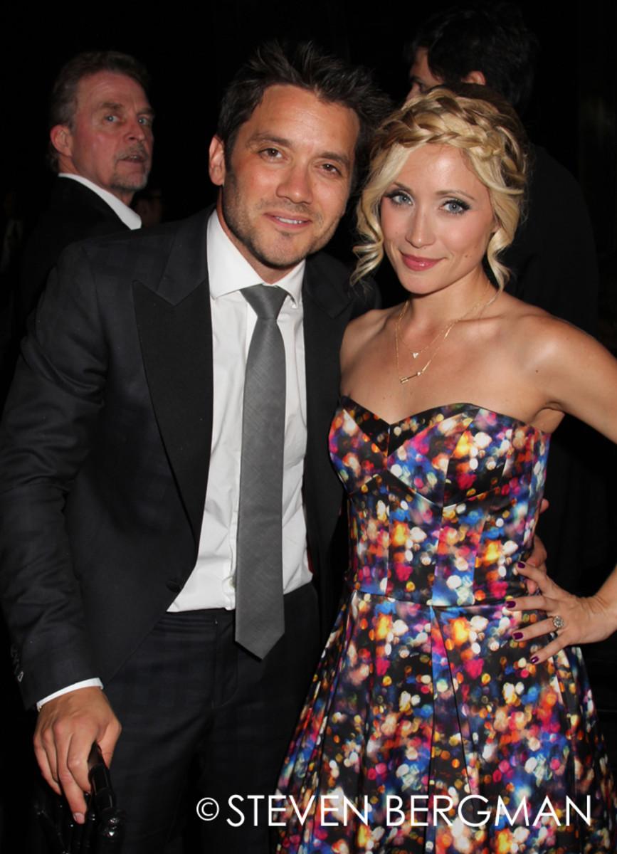 Dominic Zamprogna and Emme Rylan