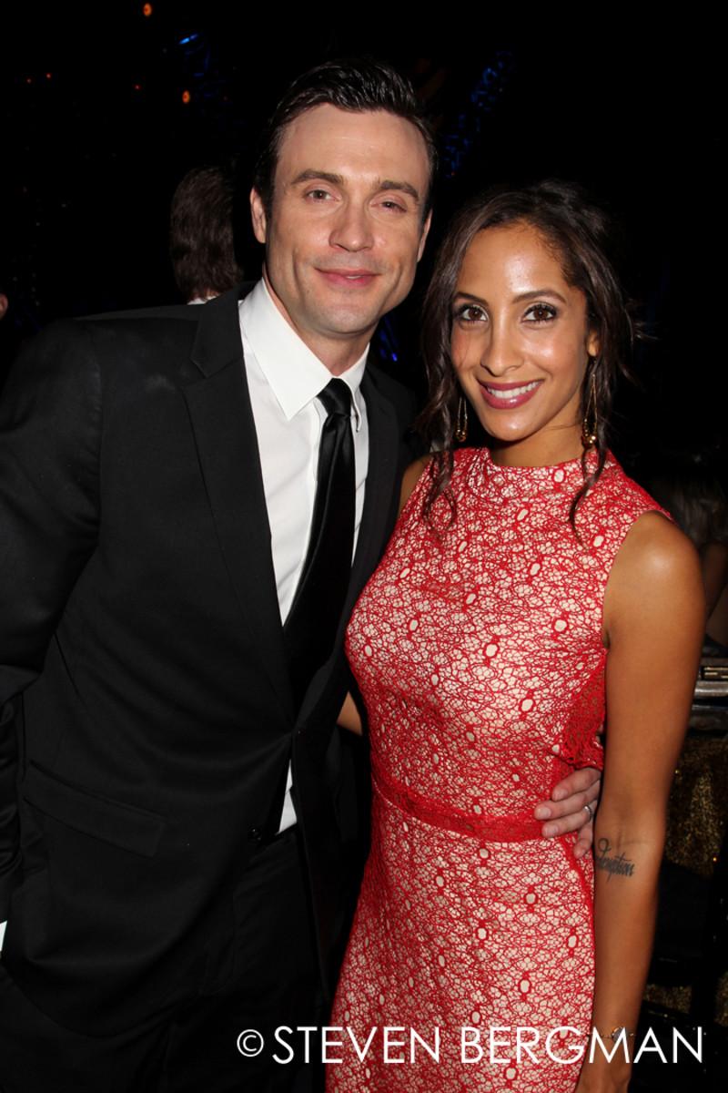 Daniel Goddard and Christel Khalil