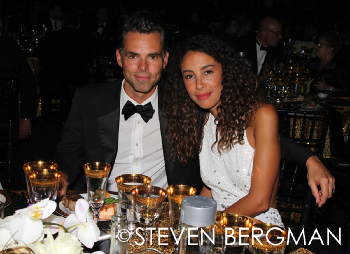 Jason Thompson and wife Paloma Jonas Thompson