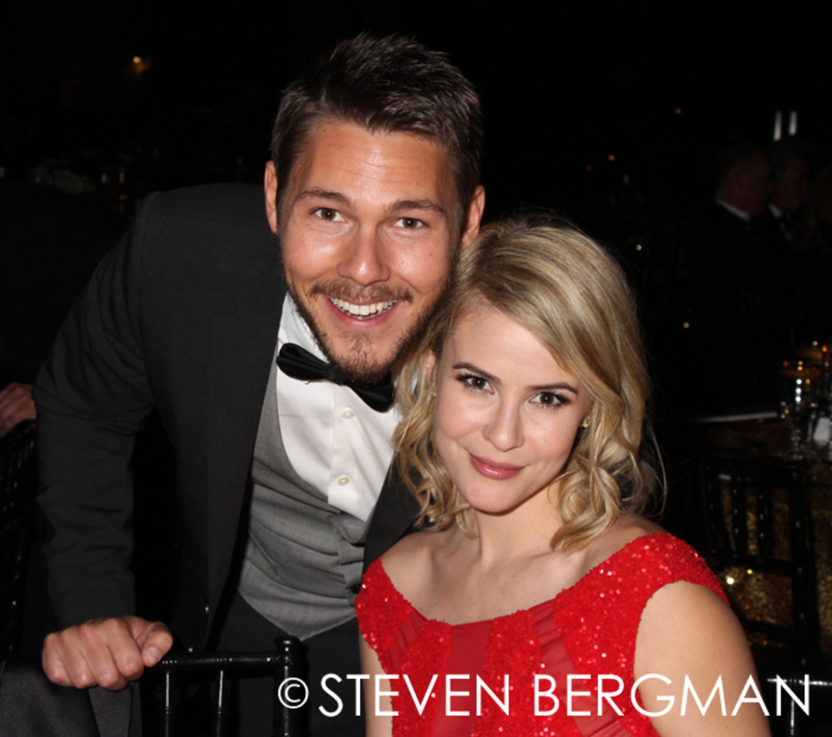 Scott Clifton and Linsey Godfrey