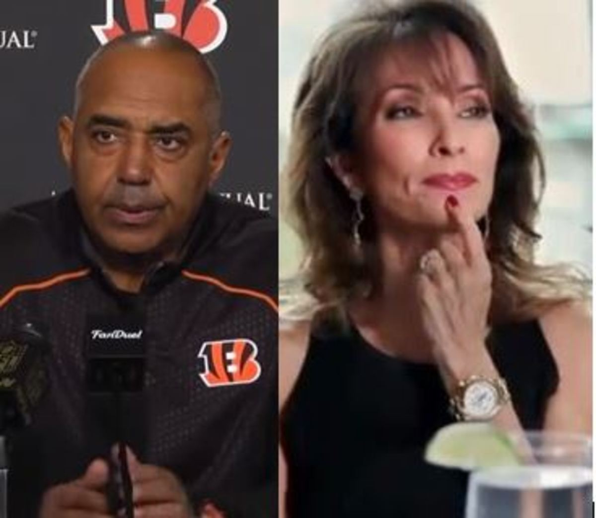 Marvin Lewis, Susan Lucci