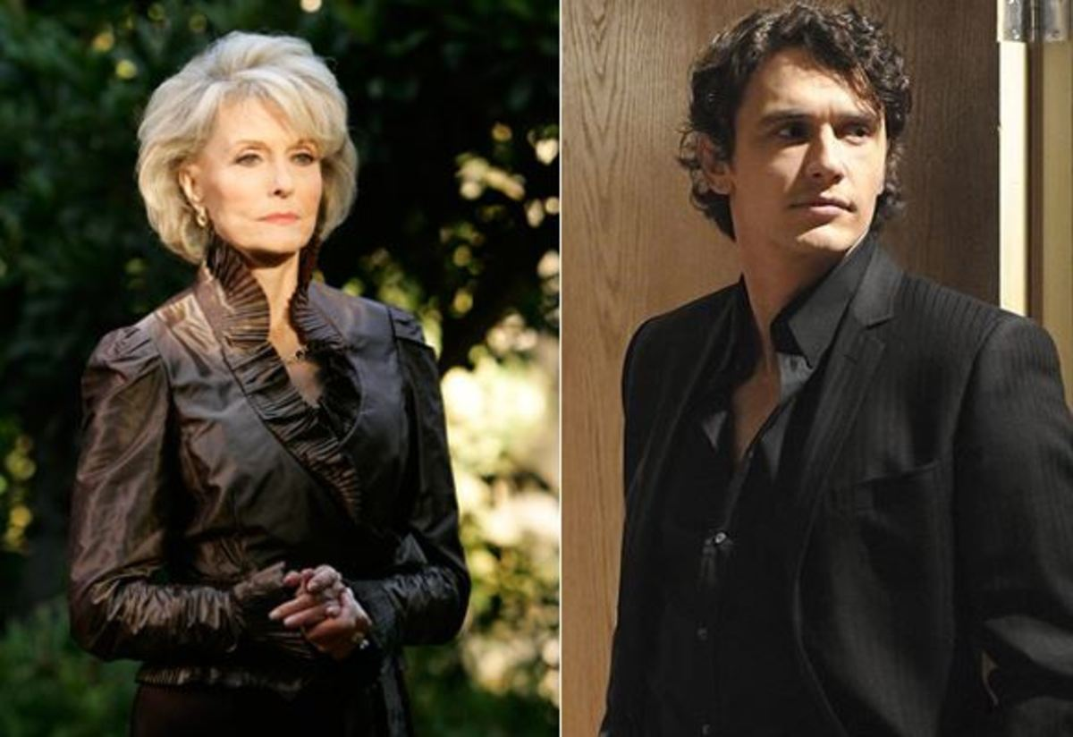 Constance Towers, James Franco/ABC