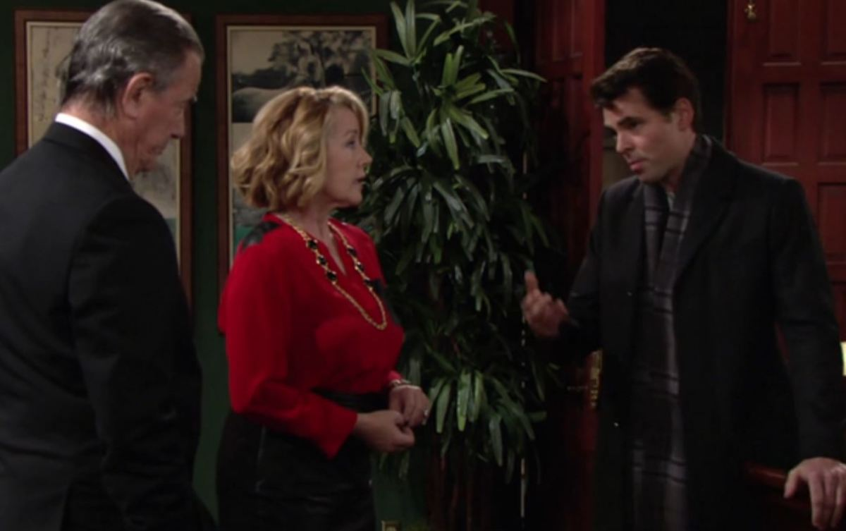 Eric Braeden, Melody Thomas Scott, Jason Thompson