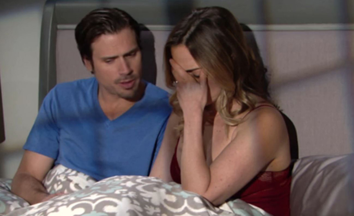 Joshua Morrow and Kelly Sullivan