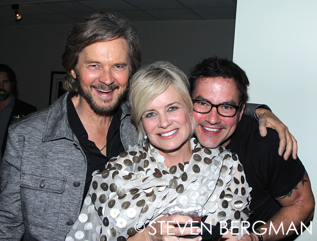 Stephen Nichols, Mary Beth Evans, Tyler Christopher
