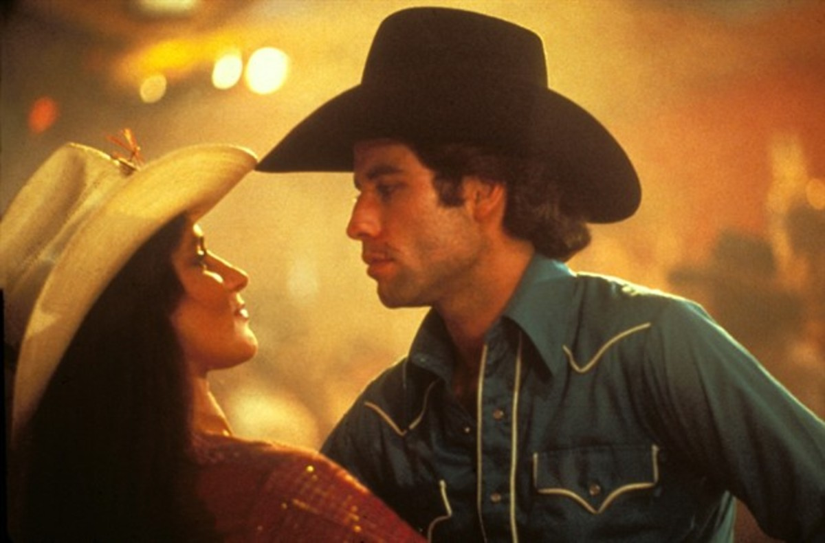 Debra Winger, John Travolta