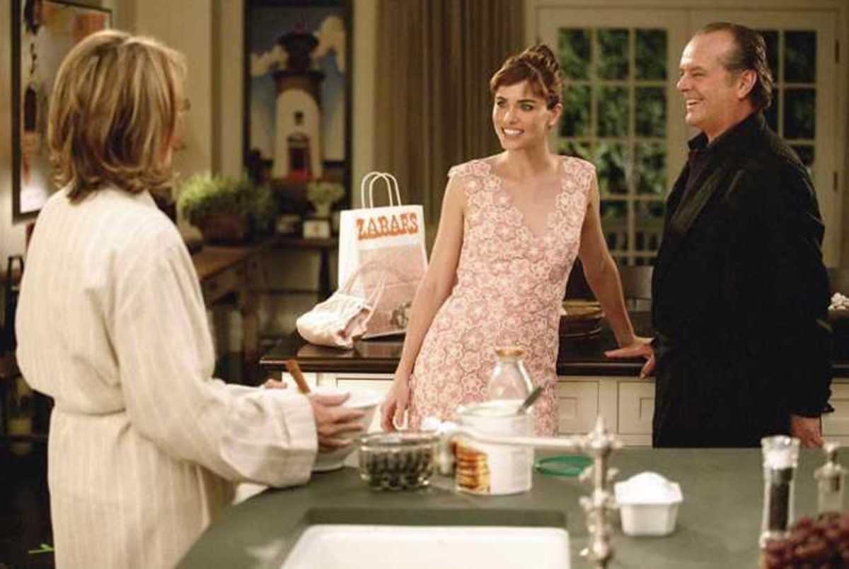 Diane Keaton, Amanda Peet, Jack Nicholson/Something's Gotta Give