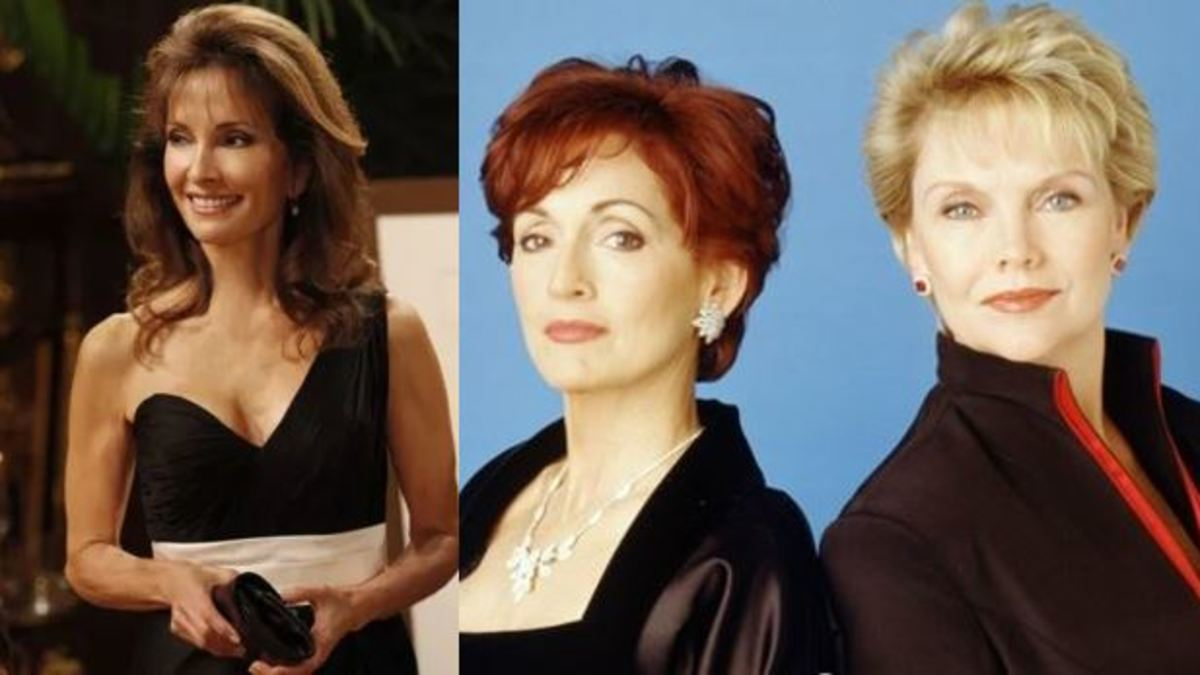 Susan Lucci, Robin Strasser, Erika Slezak from All My Children and One Life to Live respectively.