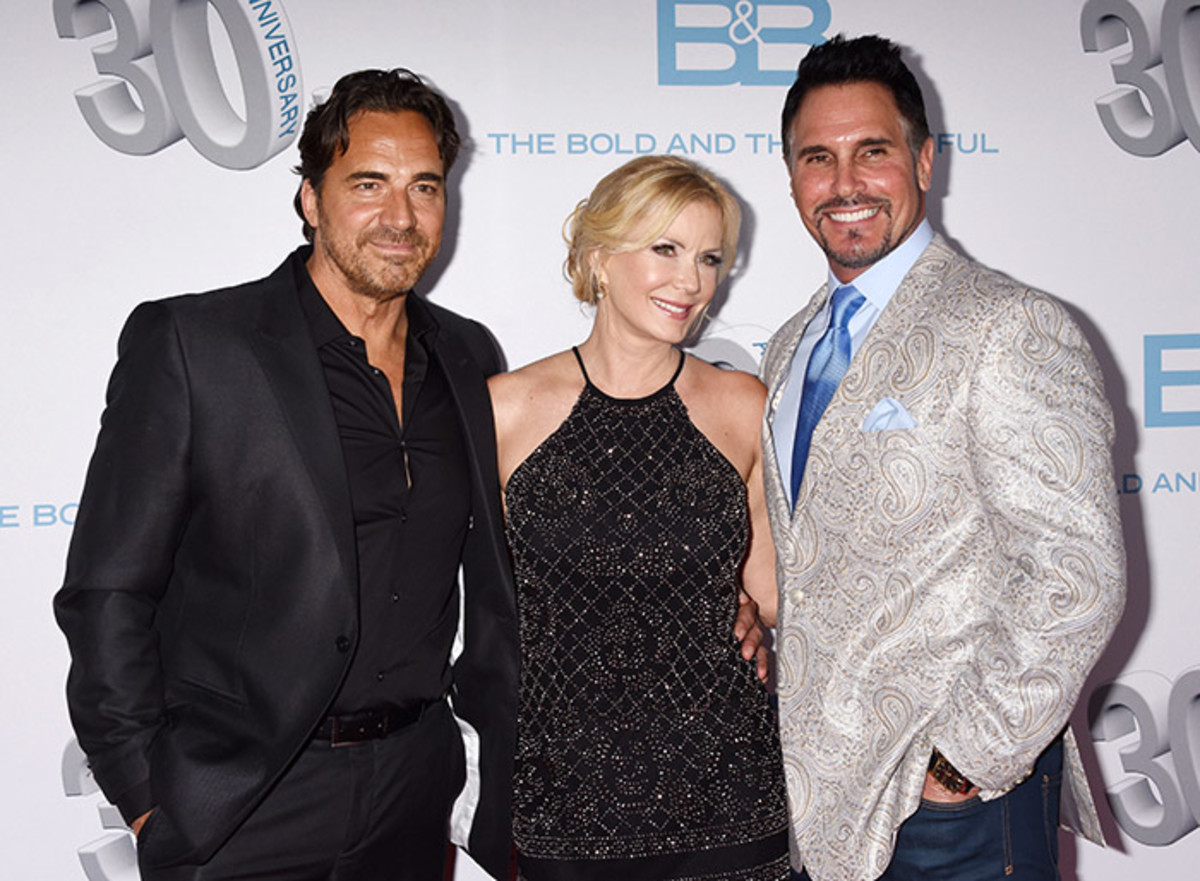 Thorsten Kaye, Katherine Kelly Lang, Don Diamont