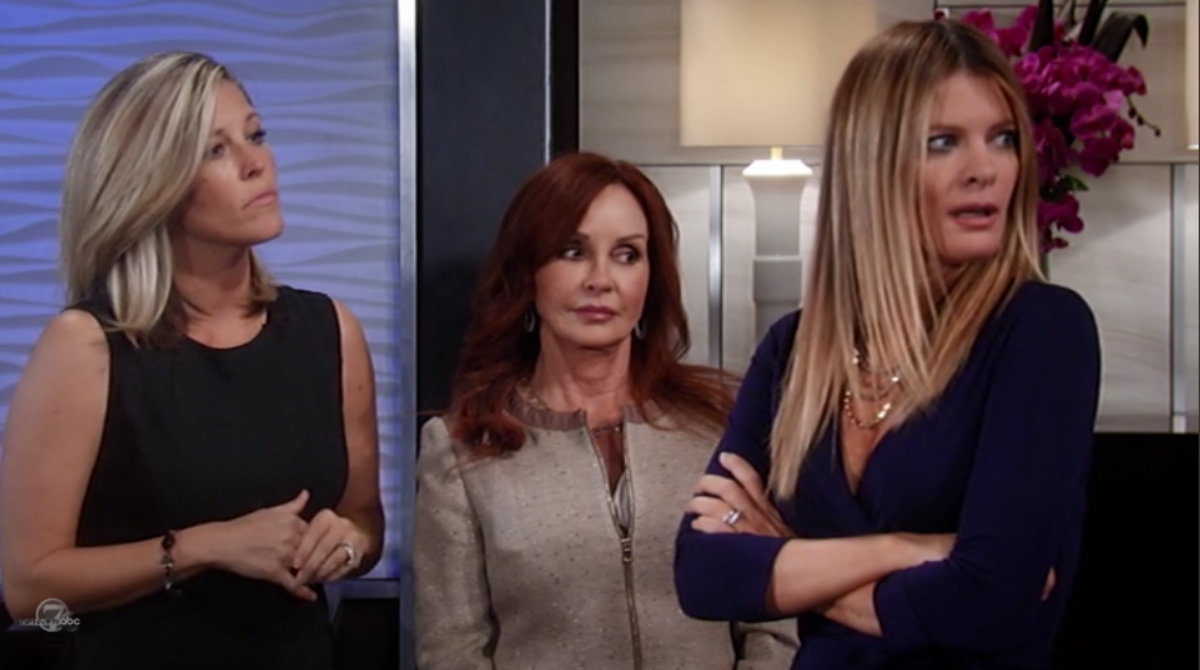 Laura Wright, Jackie Zeman, Michelle Stafford