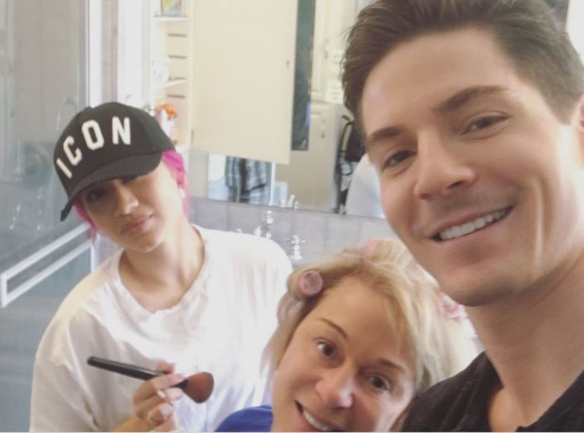 Robert Palmer Watkins and mom/Instagram