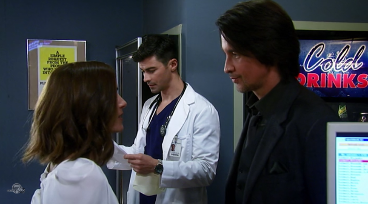 Rebecca Budig, Matt Cohen, Michael Easton