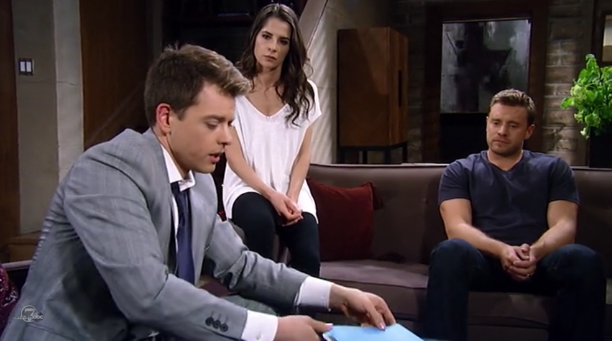 Chad Duell, Kelly Monaco, Billy Miller
