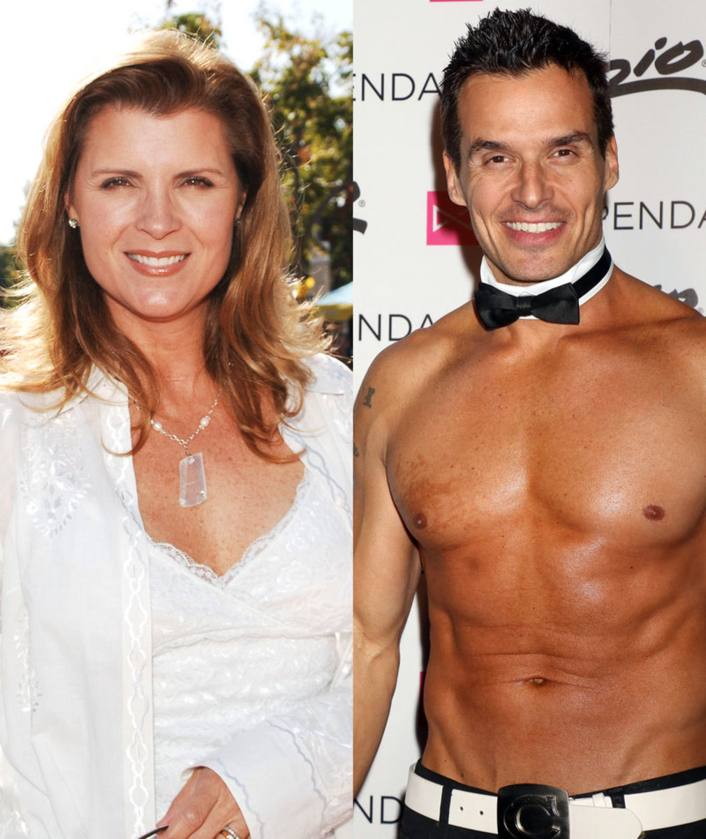 Kimberlin Brown, Antonio Sabato Jr.