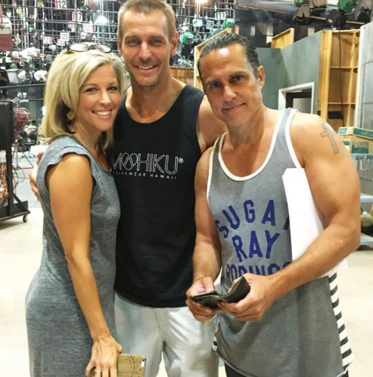 Ingo Rademacher, Laura Wright, Maurice Benard