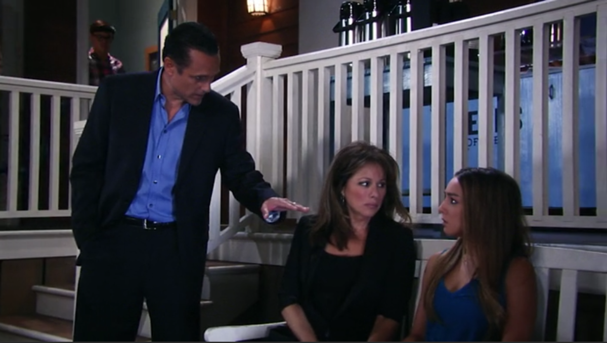 Maurice Benard, Nancy Lee Grahn, Lexi Ainsworth