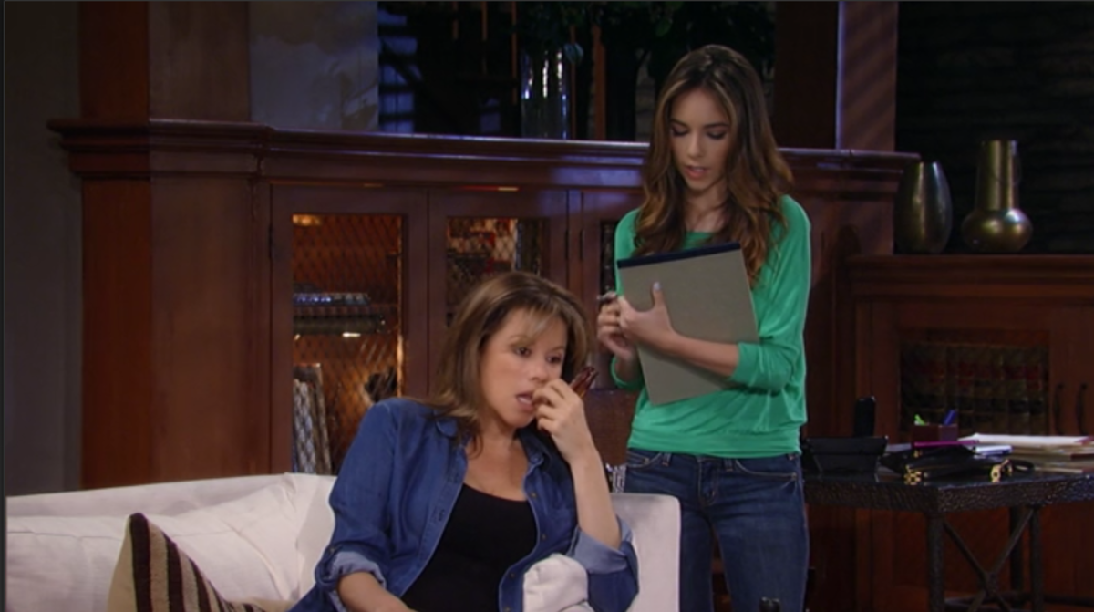 Nancy Lee Grahn, Haley Pullos