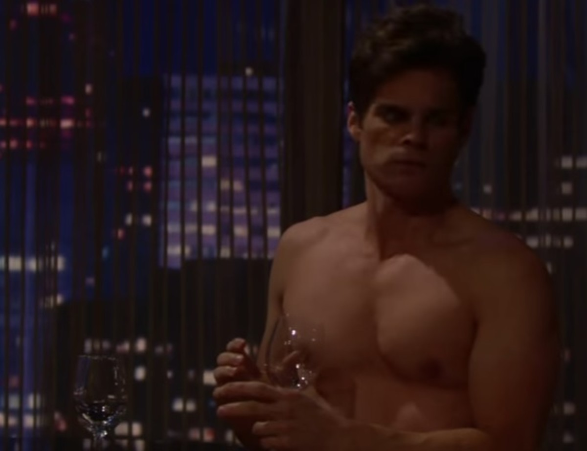 Greg Rikaart Nude throughout chelsea sees kevin's hard drive on the young and the restless