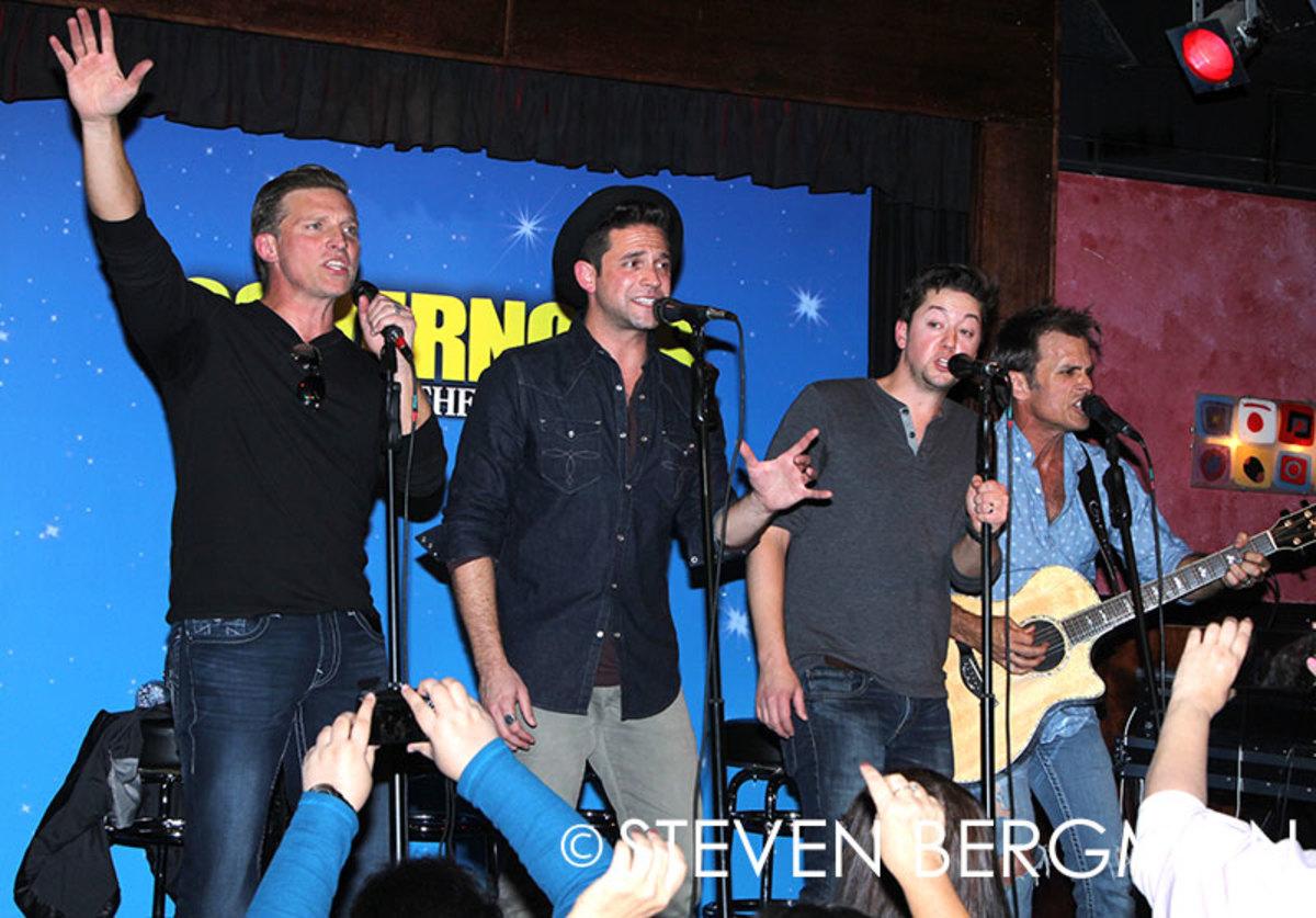 Steve Burton, Brandon Barash, Bradford Anderson, Scott Reeves