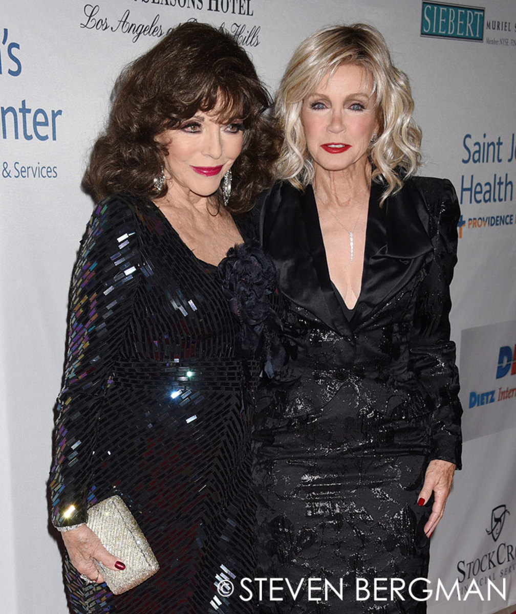 Joan Collins, Donna Mills