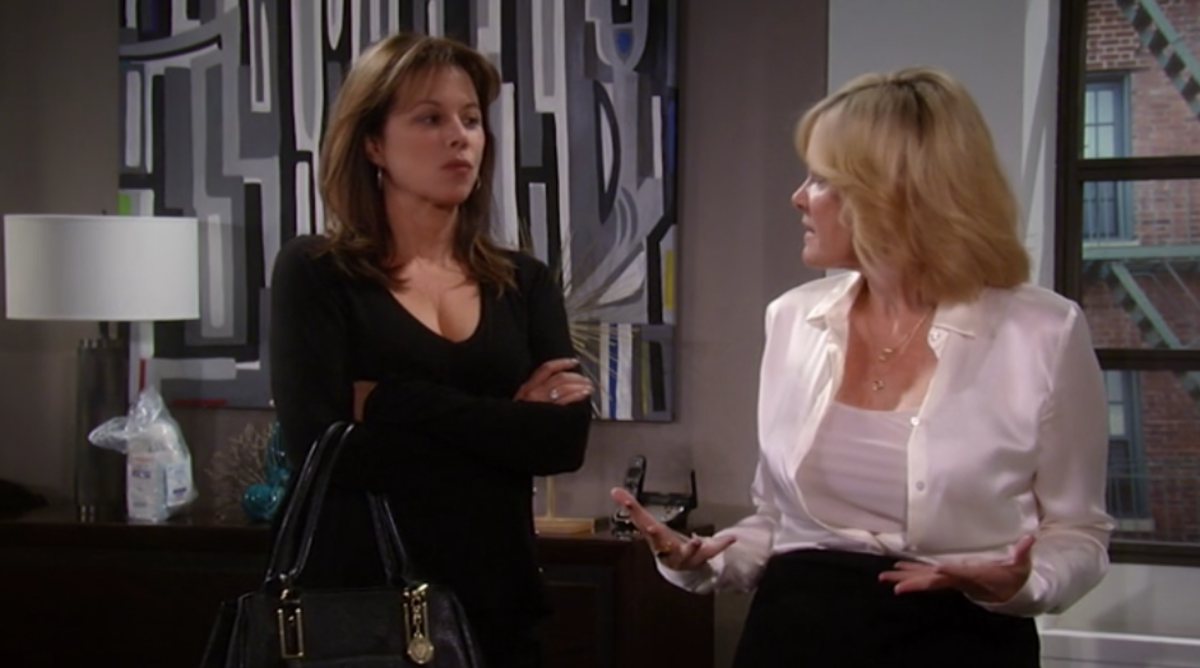 Nancy Lee Grahn, Maura West