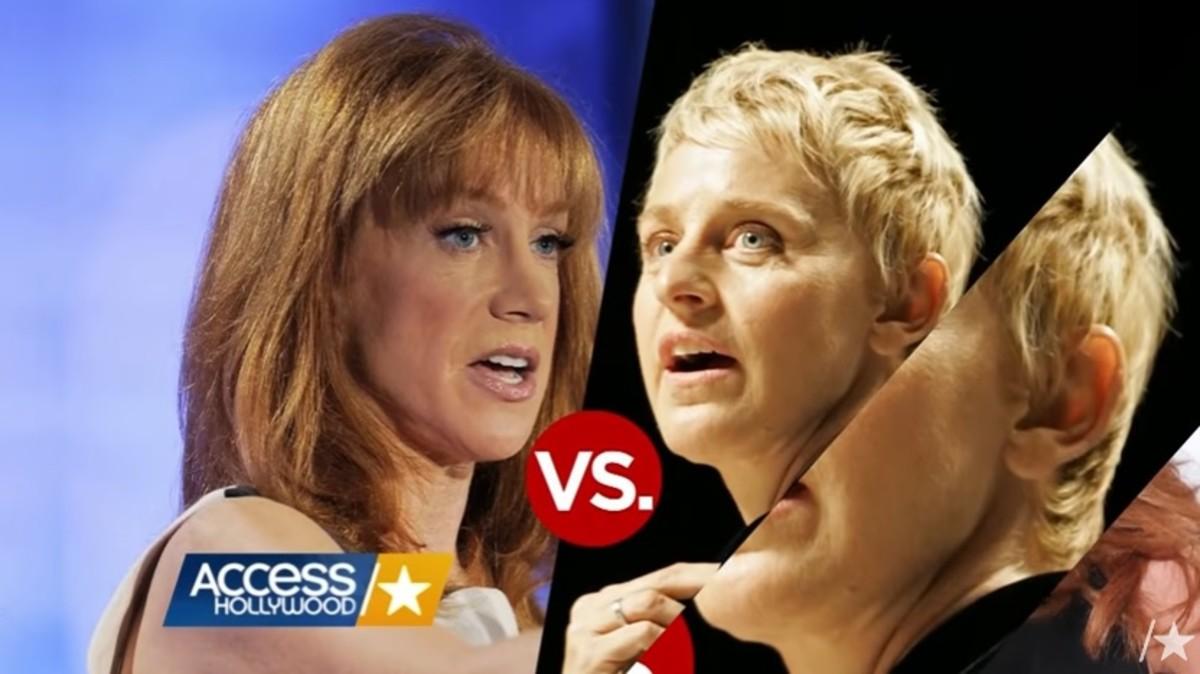 Kathy Griffin, Ellen DeGeneres