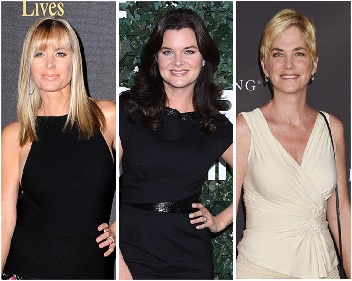 Eileen Davidson, Heather Tom,Kassie DePaiva