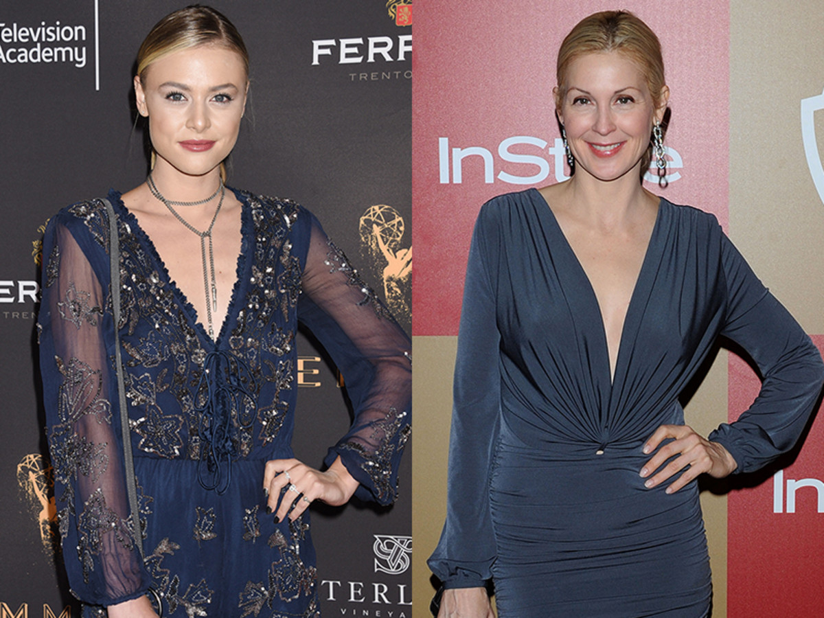 Hayley Erin and Kelly Rutherford
