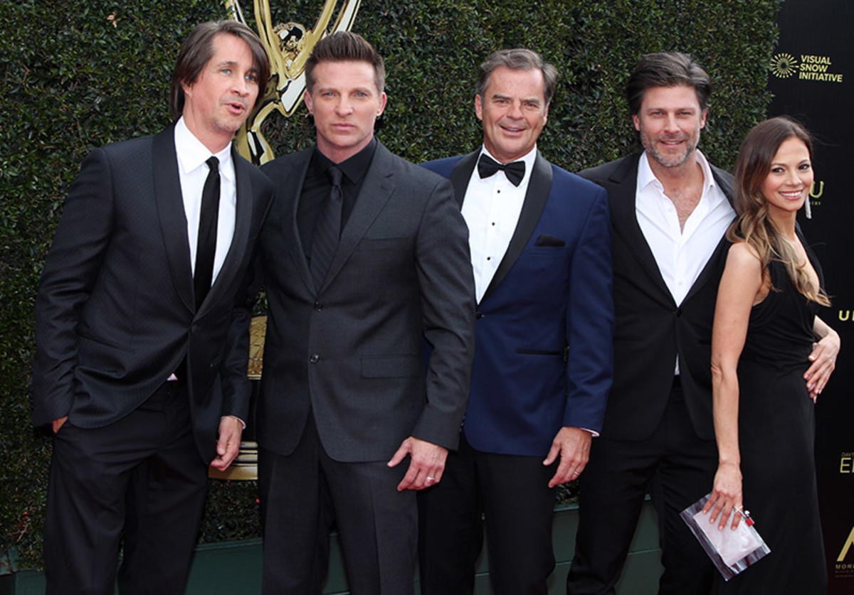 Michael Easton, Steve Burton, Wally Kurth, Greg Vaughan, Tamara Braun
