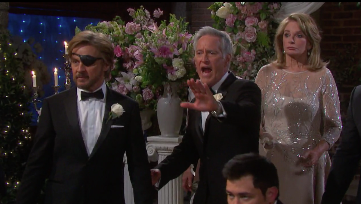 Stephen Nichols, Drake Hogestyn, Christopher Sean, Deidre Hall