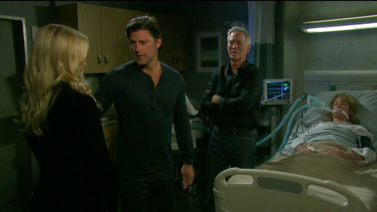 Martha Madison, Greg Vaughan, Drake Hogestyn, Deidre Hall