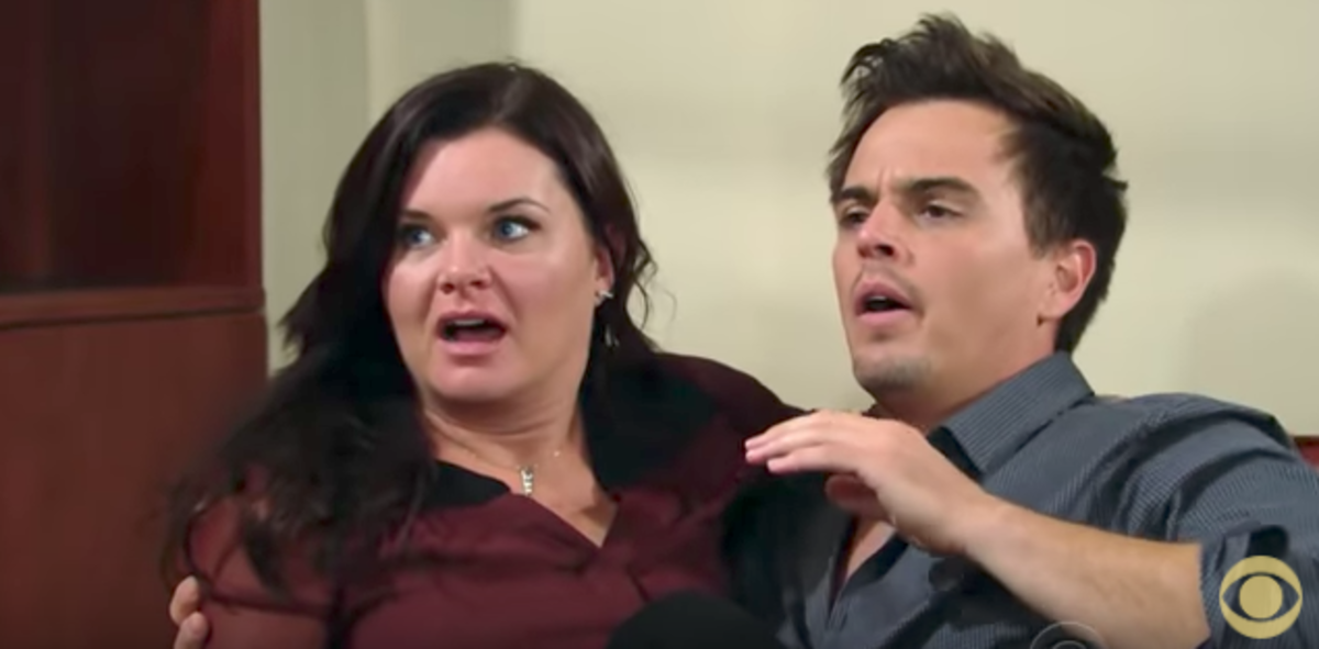 Heather Tom, Darin Brooks