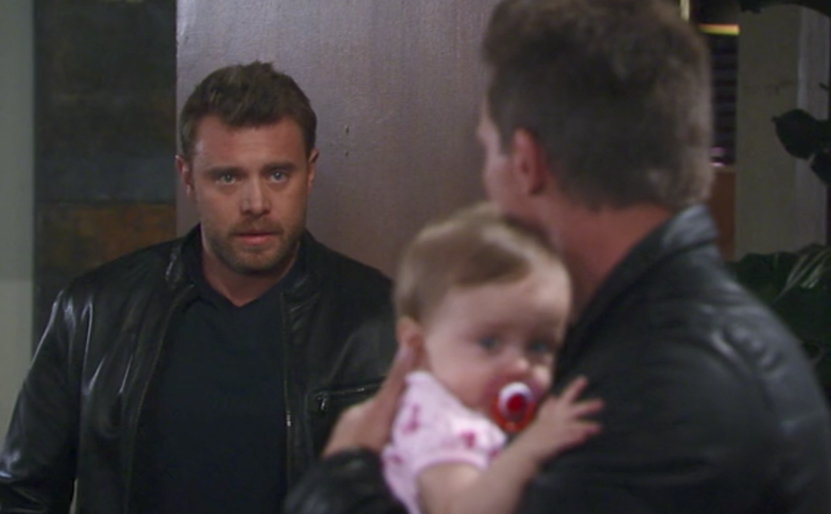 Billy Miller, Steve Burton