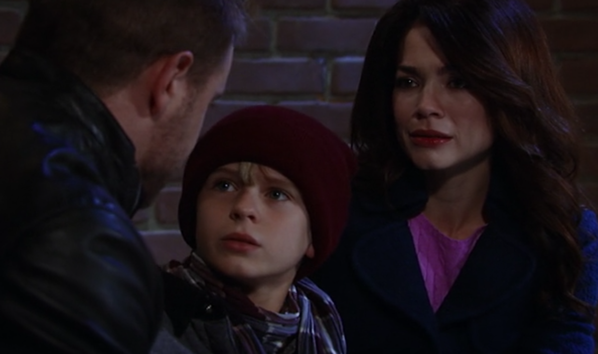 Billy Miller, Hudson West, Rebecca Herbst