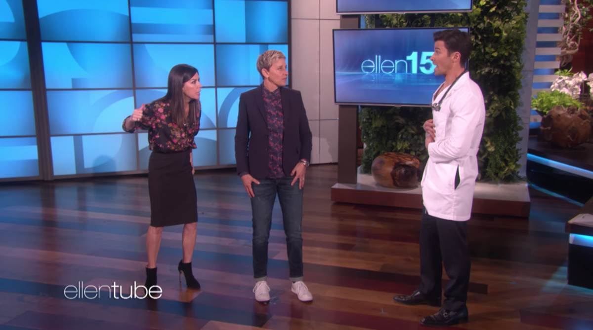 Finola, Ellen, and Matt