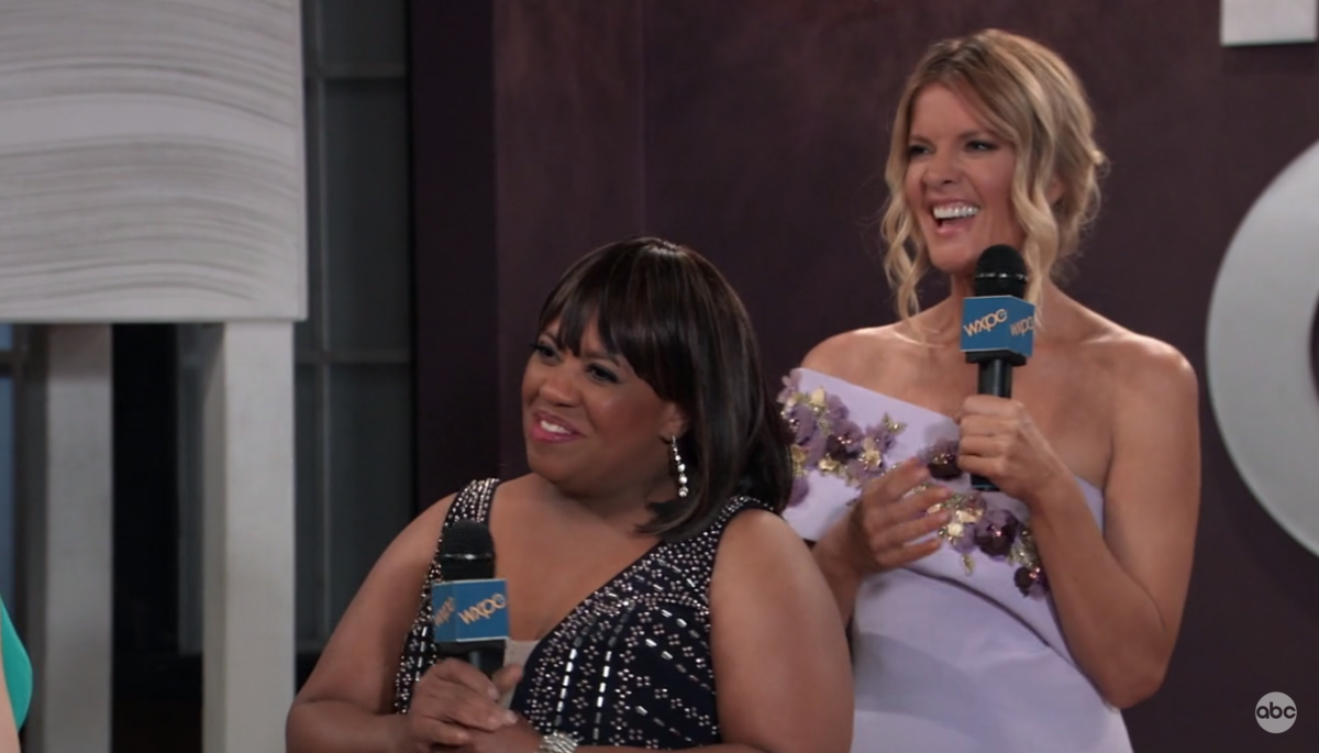 Chandra Wilson, Michelle Stafford