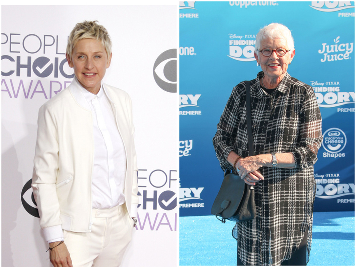 Ellen Degeneres, Betty DeGeneres