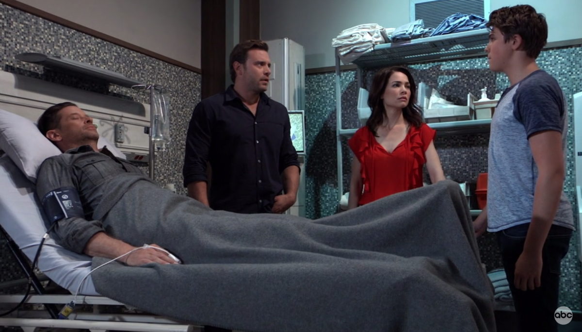 Roger Howarth, Billy Miller, Rebecca Herbst, William Lipton