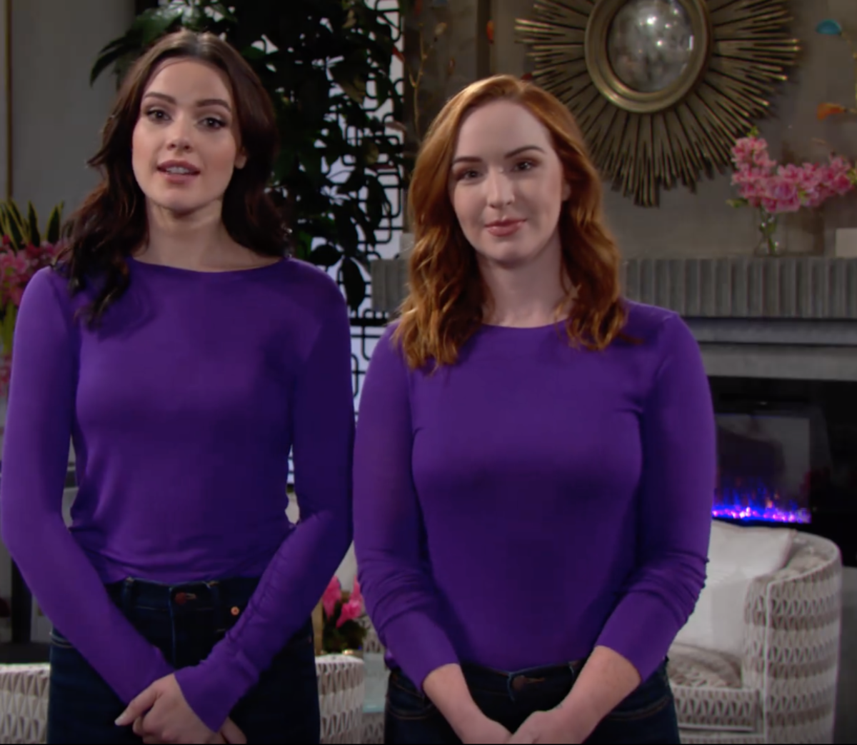 Cait Fairbanks and Camryn Grimes