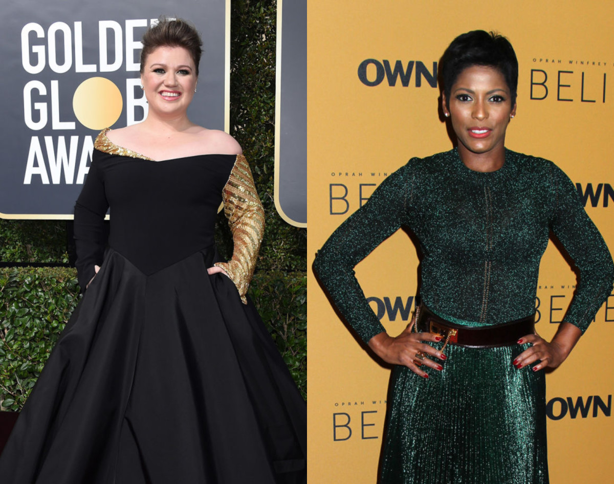 Kelly Clarkson and Tamron Hall