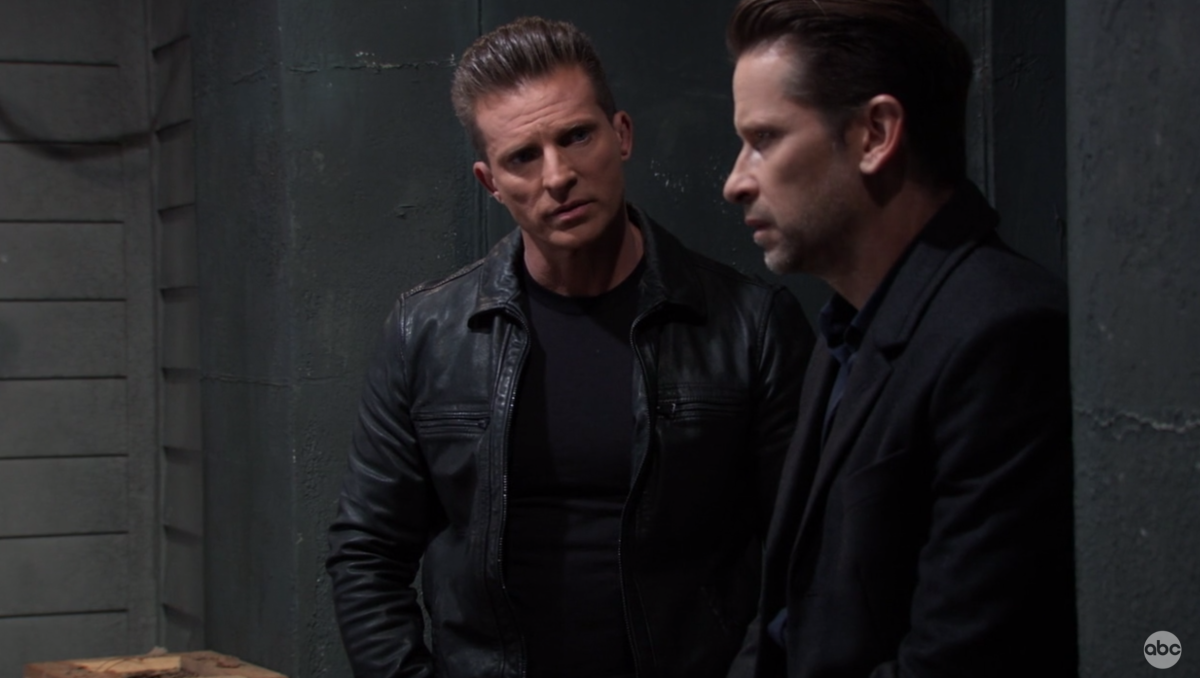 Steve Burton. Roger Howarth