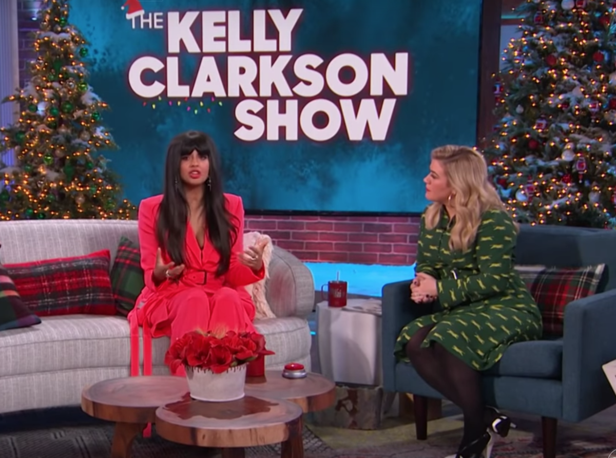 Jameela Jamil and Kelly Clarkson